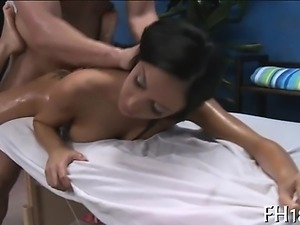 Dirty beauty drilled hard from behind and loving it