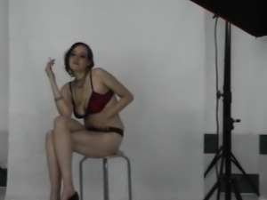 Busty student at the kinky interview