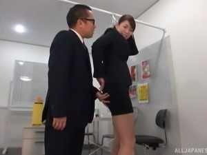she finds out just how this office works