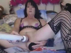 Kinky Granny Anal And Pussy Masturbation