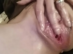 wet gaped pussy