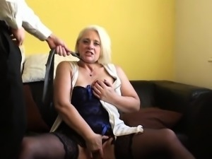 Insatiable mature skank craving cock in ass