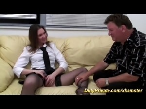 private french deepthroat anal casting