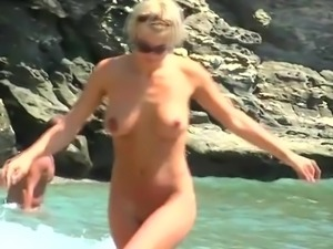 Nude Beach - Blond Beauty