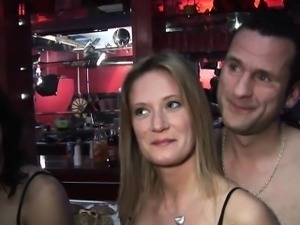 Group of horny swingers get their freak on