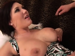 Big tit MILF Claire Dames trades oral and is banged in her cunt