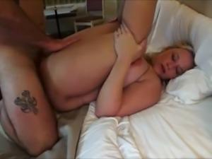 Chubby MILF having an interracial threesome