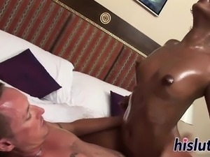 Hot massage turns into a full-on fucking session