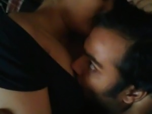 Indian couple in a hot selfie