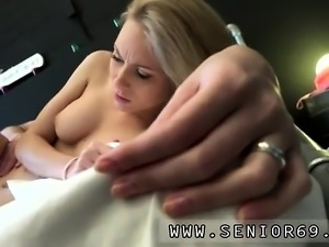 Old fat granny anal first time Alice is horny, but Daniel wa