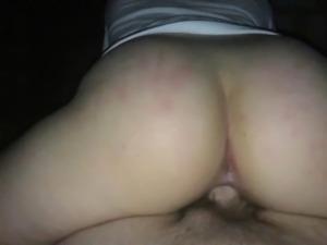 Creamy pussy POV Reverse cowgirl