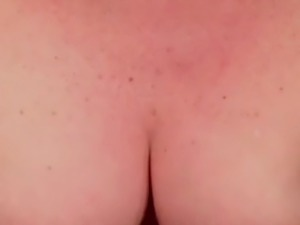 Huge cumshot on great tits - 2