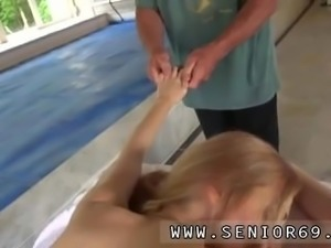 Old man vintage gangbang and lisa ann old man The towel comes off and she