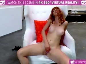 VR Bangers - 3 Crazy Hot Girls Striptease and Masturbate