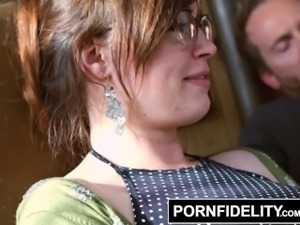 PORNFIDELITY - Nerdy Slut Jodi Taylor Gets Her Asshole Fucked Hard and Deep