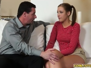 Molly Manson given by step dad a lot of pleasure
