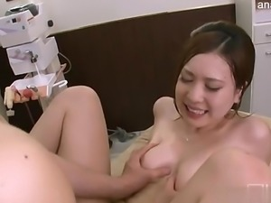 Beautiful student bang