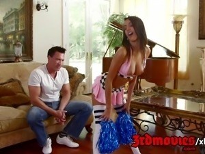 Janice Griffith Cheer Practicein Cheerleaders Gone Bad 4