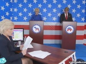 presidential debate ends with everyone fuckin