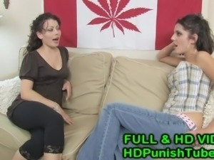 TWO Hot lesbians scissoring - HDPunishTube.com