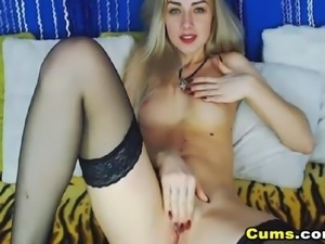 College Girl Solo Masturbation