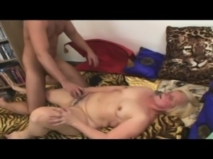 Marketa starts rubbing and pounding her twat, until this muscled stud with a...