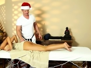 Very tricky spa of bewitching masseur