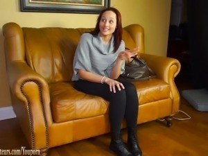 BrandNewAmateurs - Casting couch girls go lesbian with toys