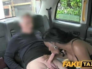Fake Taxi Ebony gets down and dirty
