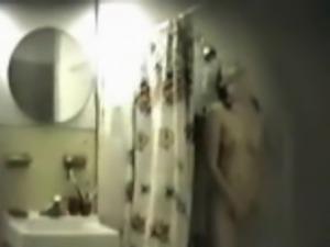 More Hidden Cam Shower Fun