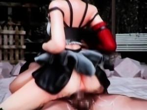 Teen hentai nympho gets slurping cunt fucked hard