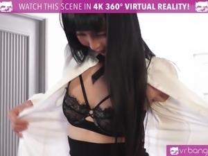 VR Bangers - Room service Japanese girl gets FUCKED HARD