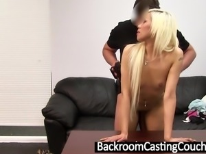 Hot Blonde Deaf Asian Assfucked and Creampie