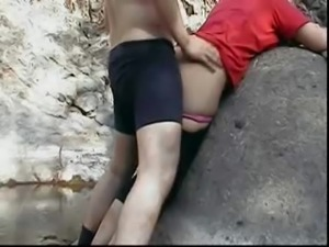 Indian Couple in Beach