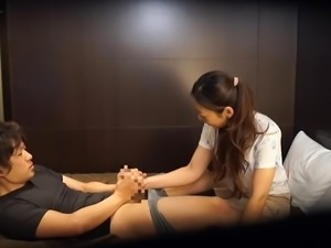 Japanese hotel massage gone wrong Subtitles