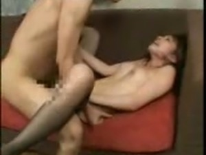 hot japanese woman fucked on couch