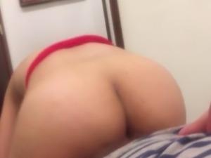 PoV big ass riding big dick anal fisted