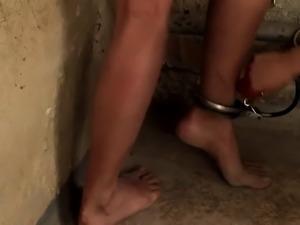 BDSM of subtle babe enjoying all fetish things