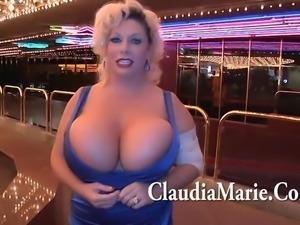 Huge Tit Claudia Marie BBC Karoake