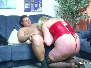Monster Tit not mother from Germany get fucked hard