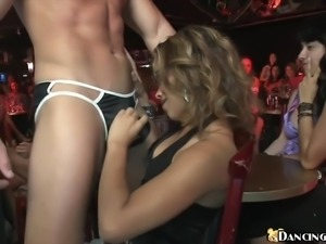 Girls love suck stripper dick