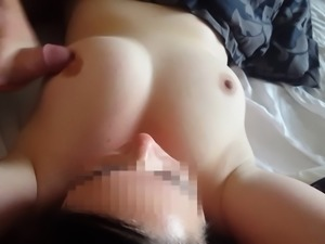 Cum on Wife's Big Tits