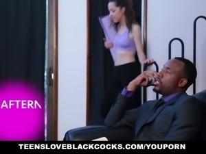 TeensLoveBlackCocks- Young Daughter Seduces Black Ma