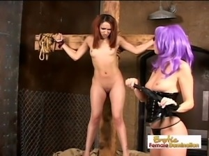 Slave Girl Gets Back At Her Dominant Mistress