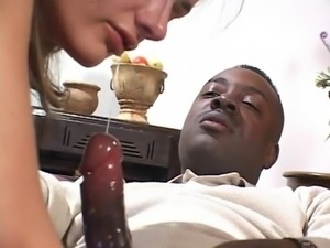 Beautiful Big Black Cock Blowjob 3