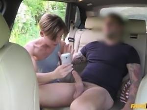 [FakeTaxi] Sasha Zima aka Alina (Passenger Rides Her Bigg Cock)