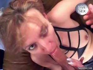 Beautiful mature enjoys cumshots and assfucking Grannies, Matures,...