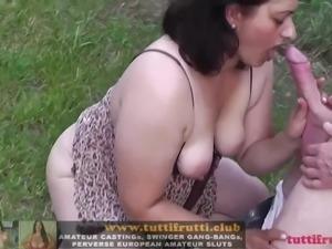 amateur outdoor swinger party
