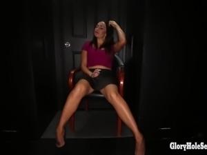 Gloryhole Secrets Big boobs and big loads Pt. 1