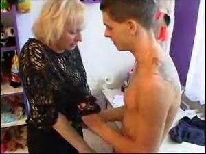 Very Hot Mom Seducing boy